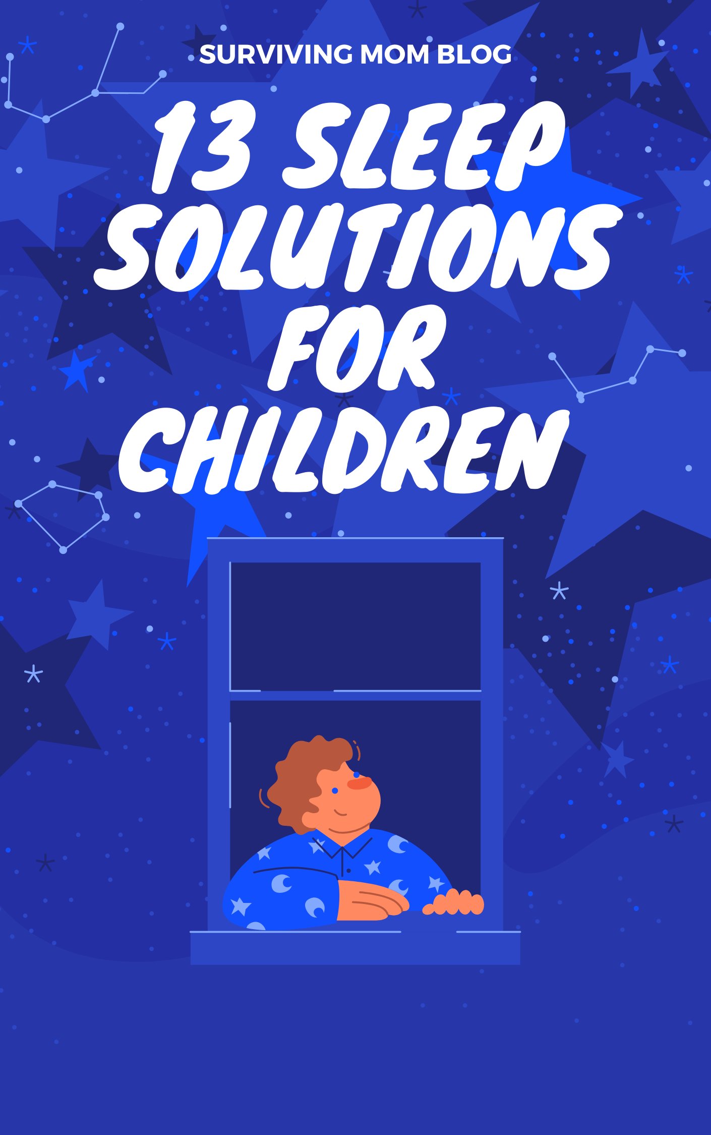 13 sleep solutions to aid children at bedtime
