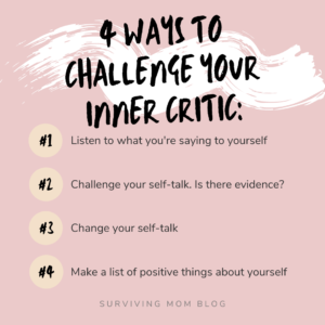 ways to challenge your inner critic