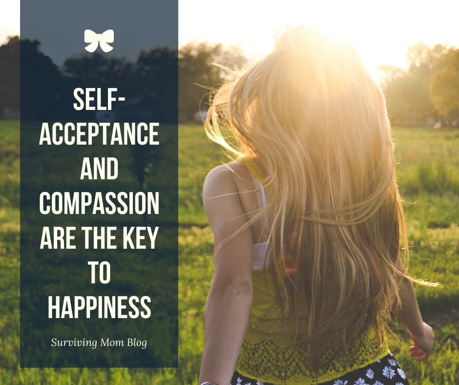 Self acceptance and compassion is the key