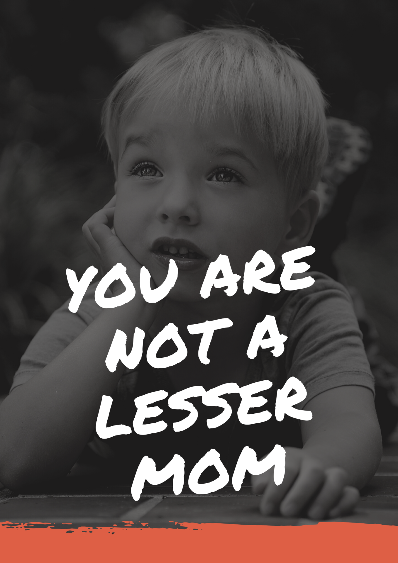you are not a lesser mom