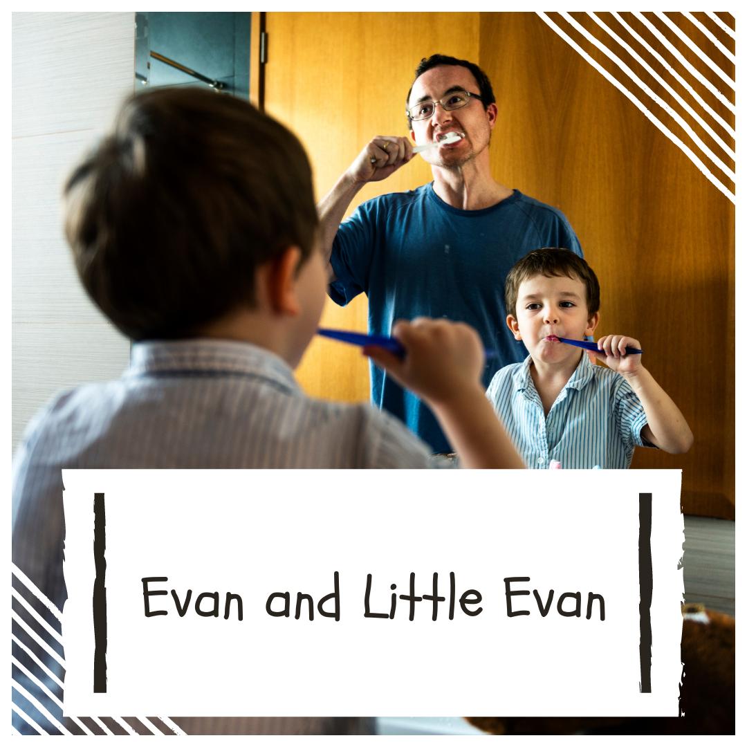 evan and little evan