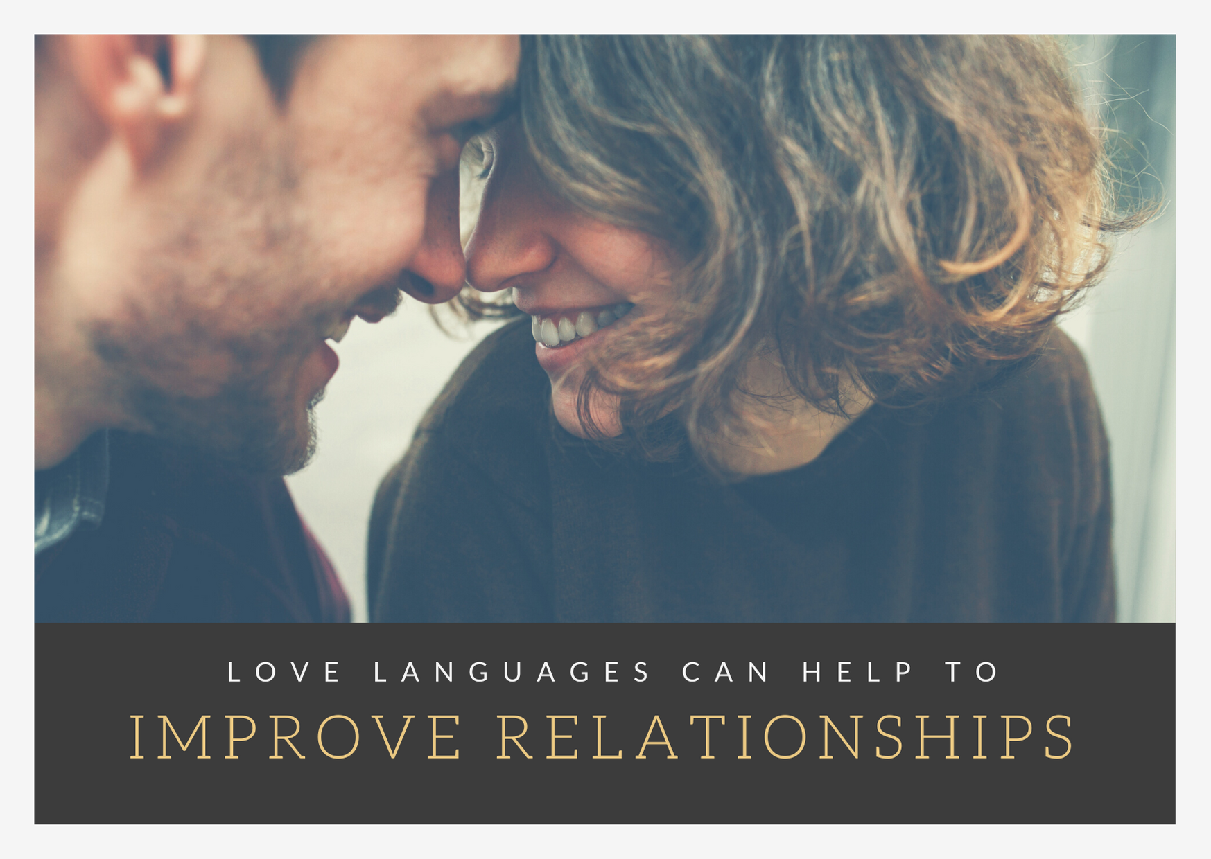 love languages can improve relationships
