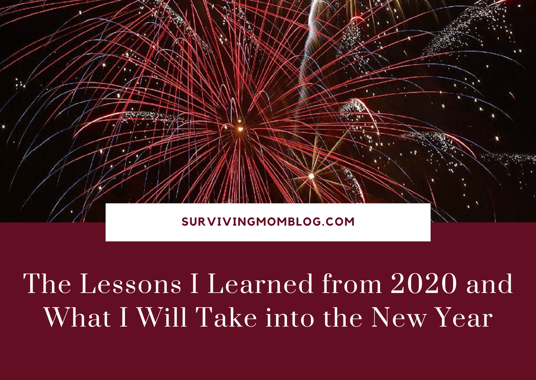 The Lessons I've Learned This Year That I Will Carry Into the New Year