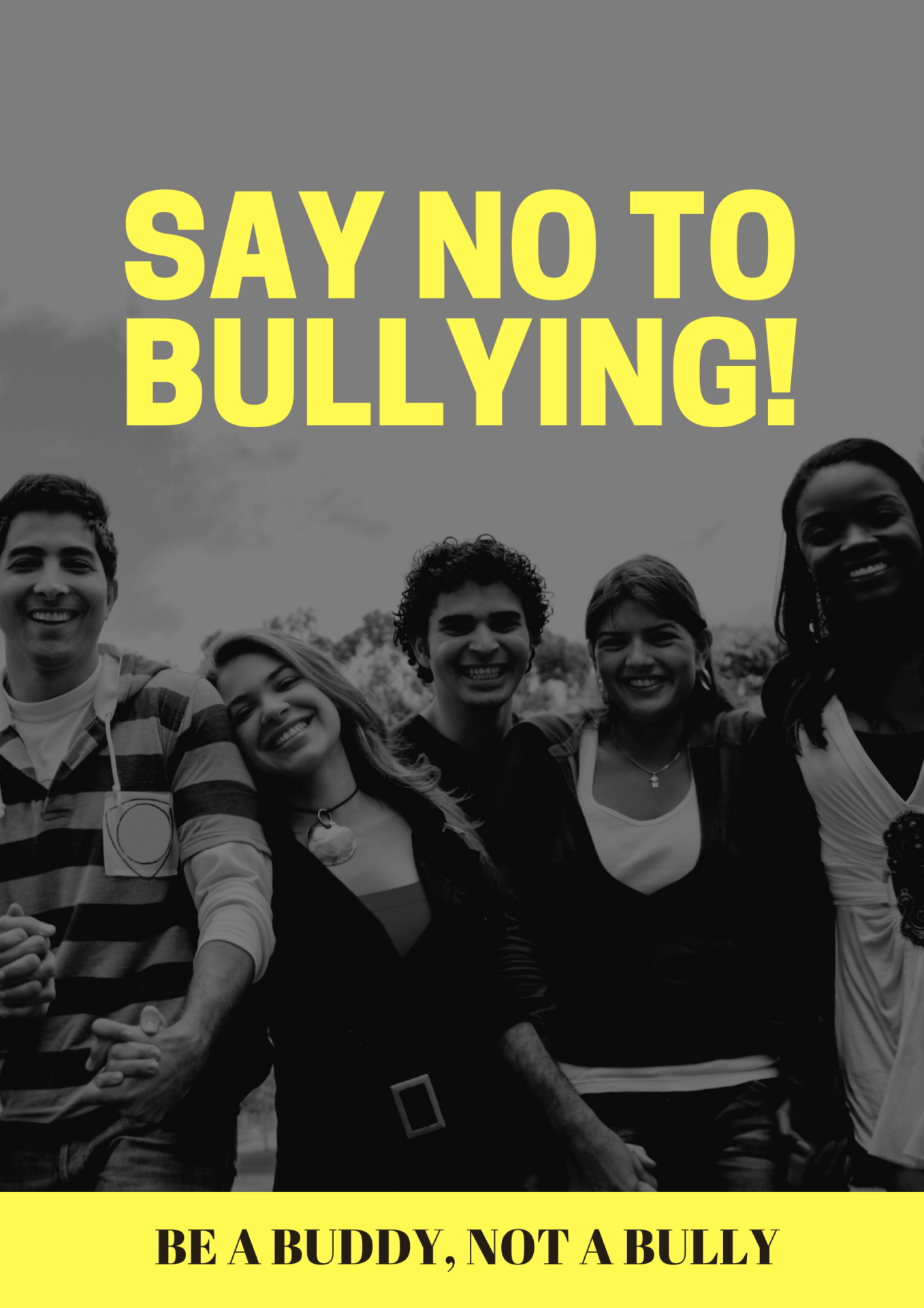 say not to bullying
