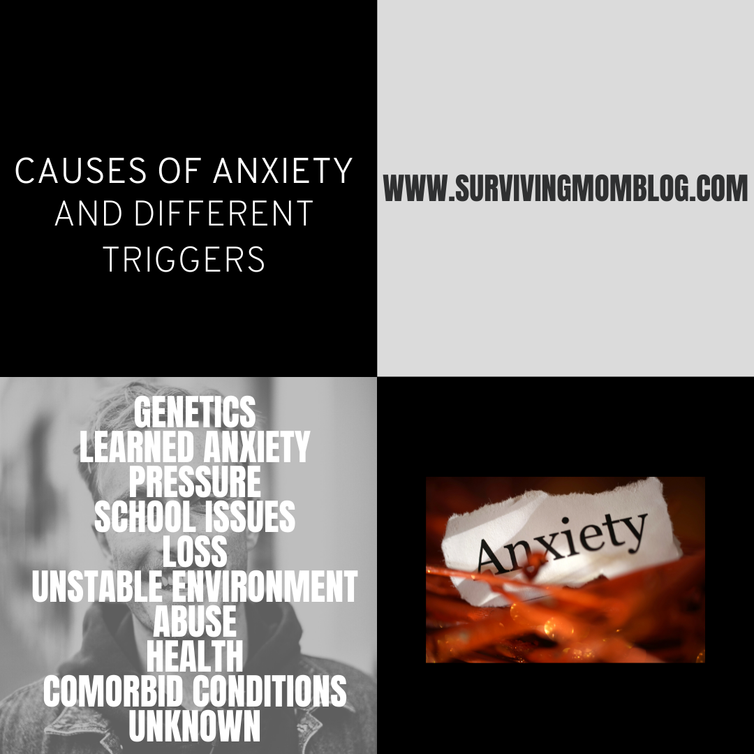 causes of anxiety