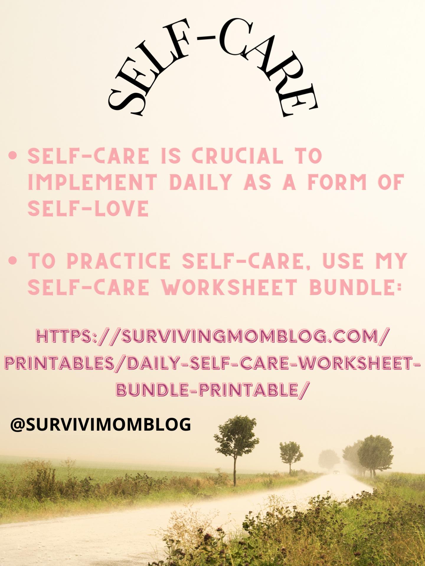 self love/self care