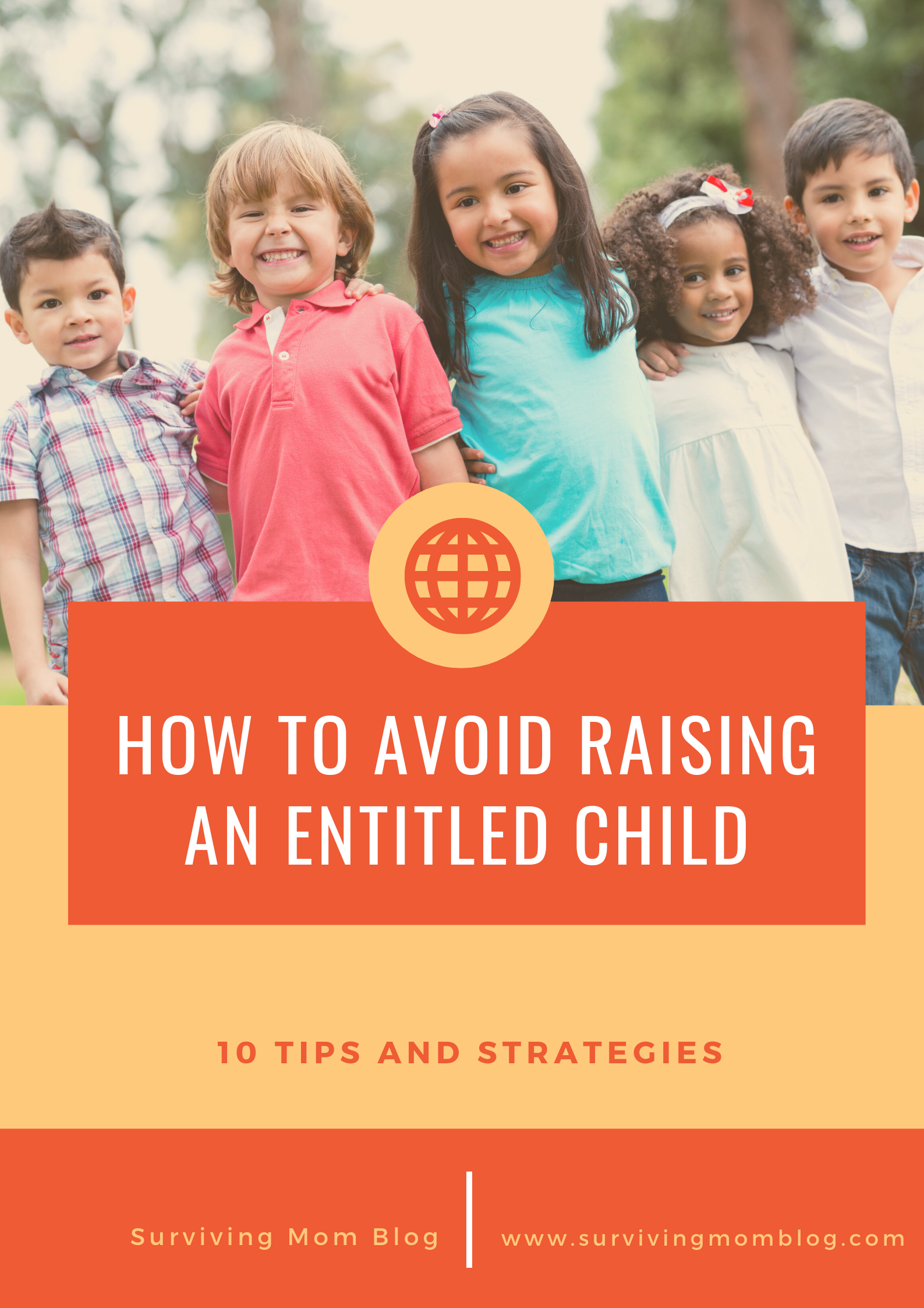 avoid raising an entitled child