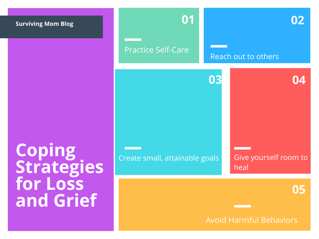 coping strategies for loss and grief