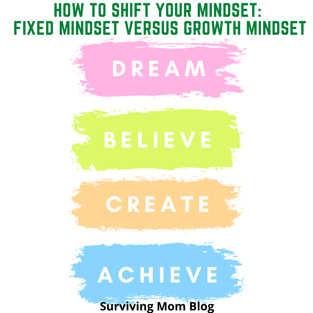 How to Shift Your Mindset: Fixed Mindset versus Growth Mindset