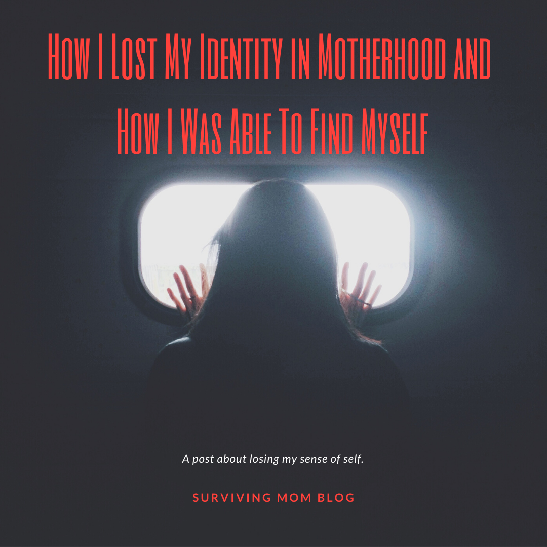 lose identity in motherhood