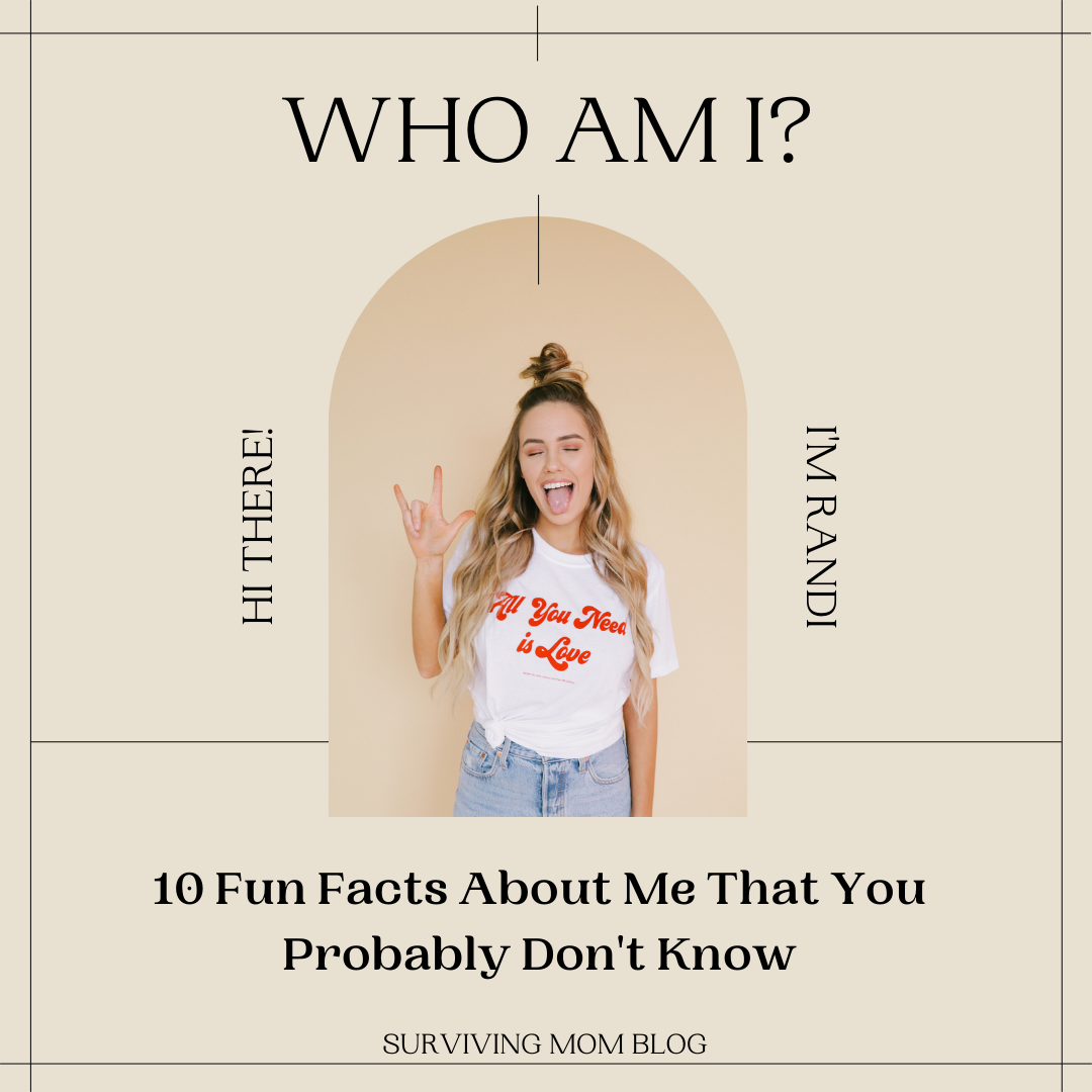 10 Fun Facts About Me That You Probably Don't Know