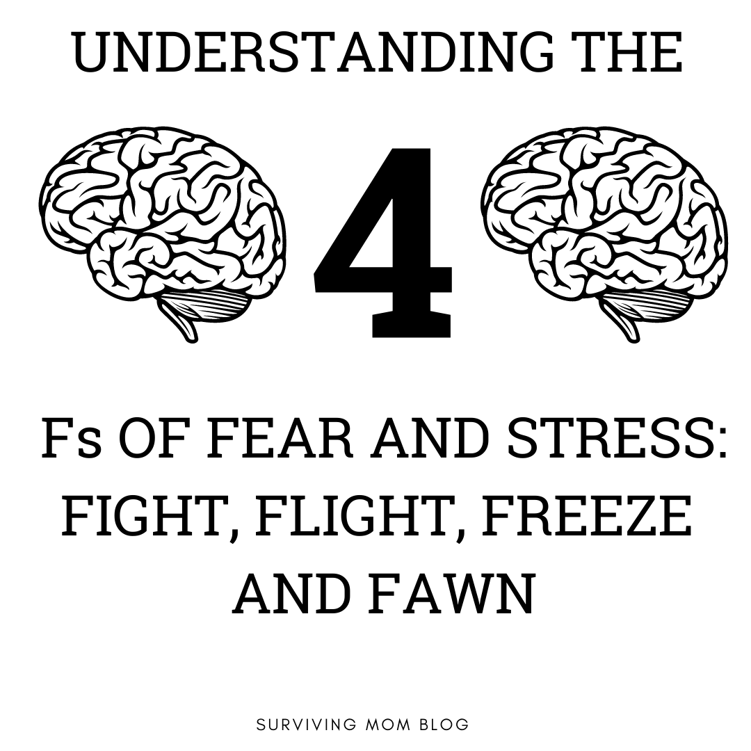 Understanding the 4 Fs of Fear and Stress: Fight, Flight, Freeze and Fawn