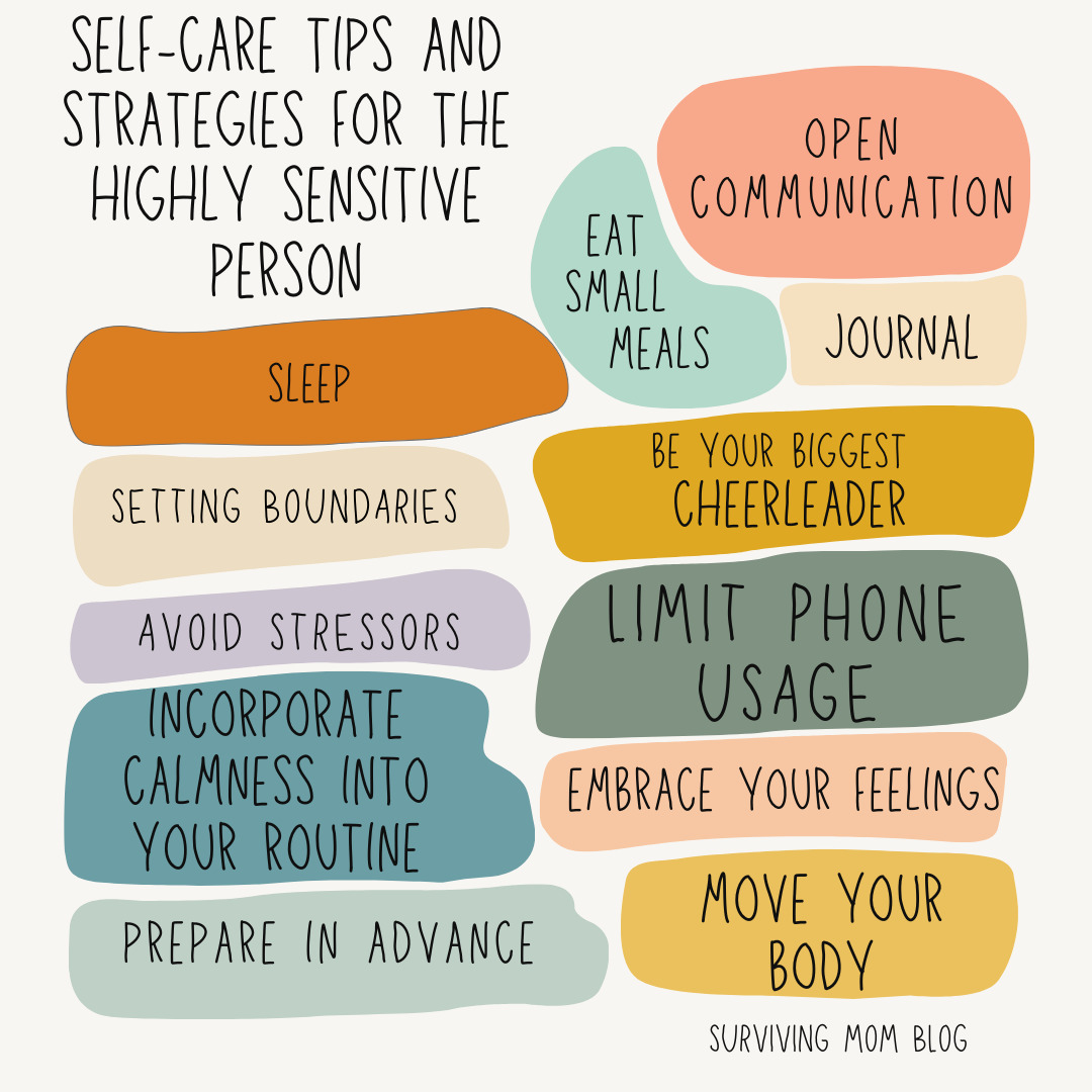 self-care tips for HSPs